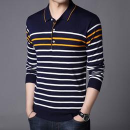 Camiseta polo de manga larga para hombre de Liseaven Polos Camisa slim fit  para hombre Camisas Algodón Camisetas Tops fdef4fefc5e