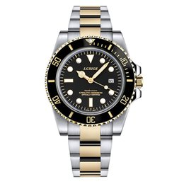 Wholesale Top Brand Divers Watches - 2018 latest Luxury role Mens Watches Top Brand Military Sport Quartz Watch Green Bezel Mans Waterproof Steel gmt watches clock