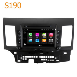 Wholesale Mitsubishi Navigation Dvd - Road Top S190 Android 7.1 System Quad Core CPU 2 Din Car Radio DVD Player GPS Navigation Head Unit Car PC for Mitsubishi Lancer 2007 - 2013