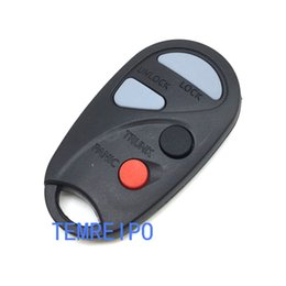 Wholesale nissan maxima car - Keys for Nissan Maxima 3+1 buttons remote case car key case teana key with battery holder