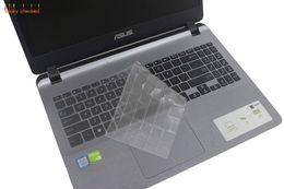 2019 comprimés de peau claire TPU Clavier Protecteur de la peau pour Asus VivoBook 15 X507 X507MA X507M Y5000U YX560UD X560U X560U X560UD 15.6 pouces