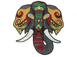 Nouvelle électricité brodé éléphant patch vêtements décalques accessoires de bricolage soluble dans l'eau applique ? partir de fabricateur