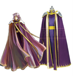 Emblema cosplay fogo on-line-Fire Emblem: The Sacred Pedras Heros Lyon Cosplay Custom Made
