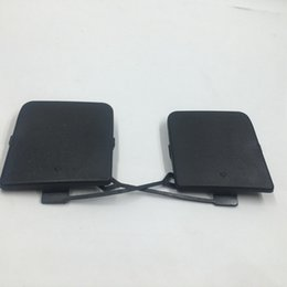 Wholesale e84 bmw x1 - Set of 2 pcs LH & RH rear bumper trailer tow hook eye cap cover for BMW X1 Series E84 2010-2012 51112990610 51112990609
