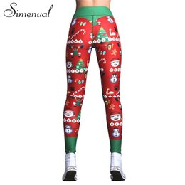 b932ad6d904d56 Simenual Christmas print red leggings sportswear for women bodybuilding  push up fitness legging female pants athleisure jeggings