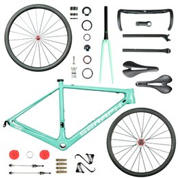 Wholesale Bicycle Frame Design - bike carbon frame new design T1000 super light carbon frame R6 . high quality wheelset . complete bicycle and carbon wheelset