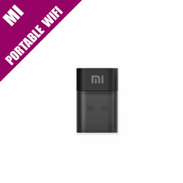 Router adattatore wifi usb online-Originale Xiaomi WiFi Portable Mini USB Wireless Router / ripetitore WiFi USB Adapter con 1 TB di spazio libero su cloud