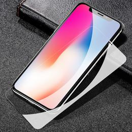 Zubehör für das filmen online-New iphone XS gehärtetes Glas volle Abdeckung Displayschutzfolie Iphone XR Telefon Schutz gehärtetes Glas für iphone X Zubehör 3D
