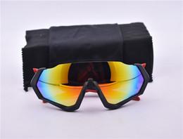 Explosionsgeschützte sonnenbrille online-1 stücke Mode Radfahren Fahrrad Sunglass explosionsgeschützte PC Sonnenbrille Unisex Männer Sicherheit Outdoor Sports Sunglass polarisierte linse mit box