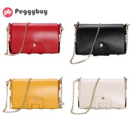 04f807b4a47ce langkettige kleine taschen Rabatt Einfache Frauen Dame Schulter Handtasche  Trendy Kleine Messenger Bags Casual PU Leder