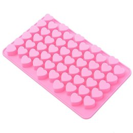 pink pastries NZ - Mini Heart Shape Silicone Ice Cube   Chocolate Mold Bakeware Baking & Pastry Tools (Pink)
