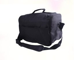 Wholesale Hairdressing Bags - Free shipping HAIR TOOLS HAIRDRESSING BLACK TOOL CASE BEAUTY BAG
