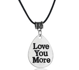 Wholesale Leather Cord Free Shipping - 2018 New arrival women elegant pendants necklaces family of mother's day Mom dad Nana Leather cord jewelry pendant Free shipping EXL451