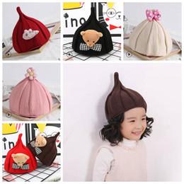 Bebek Şapka Sevimli Bebek Kız Yumuşak Örgü Hedging Caps Ayı Yay Yıldız Çocuk Şapkaları Yenidoğan Kış Sıcak Yün Kap Bebek Aksesuarları YL706 nereden