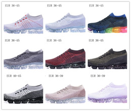 Wholesale new style shoes for mens - Mens Vapormax Running Shoes for 2018 apphire color new style women Sports Shoes womens shoes sneakers Athletic Trainers Free Shipping