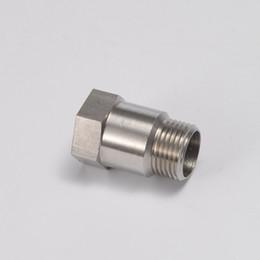 sensori o2 Sconti EPMAN- Auto Scarico O2 Sensore di ossigeno Tubo di prova Estensione prolunga Adattatore distanziatore M18 X 1,5 Tappo filettato Acciaio inossidabile 304 EP-CGQ52