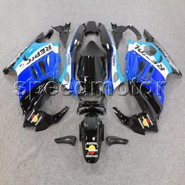 Wholesale 95 Cbr Fairing Kit - 23colors+Gifts blue repsol CBR600 F3 95 96 motorcycle cowl Fairing for HONDA CBR 600F3 1995 1996 ABS plastic kit