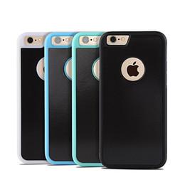 Anti Gravity Téléphone Sac Case Pour iPhone 5 5S SE X 8 7 6 S Plus Antigravity TPU Cadre Couverture D'aspiration Adsorbed Car Case ? partir de fabricateur