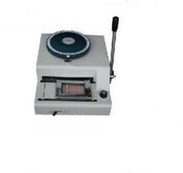 produtos químicos laranja Desconto As 2 últimas em 1 máquina manual de gravação da entalhe de Embosser do cartão do PVC de 80 80