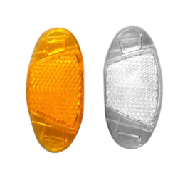 Wholesale lamp film - Mountain Bike Light Reflector Spokes Lamp Bicycle Accessories Panel Warning Film Wheel Group Protection Camping Equipment 0 7ct bb