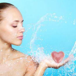 Wholesale oil scents - Handmade Natural Heart 50G Bubble Bath SPA Bombs Ball Bath Bombs Bubble Bath Salts Ball Body Essential Oil Moisturizing