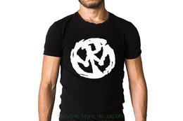 крутые логотипы Скидка Прохладный Slim Fit письмо печатных пользовательских Pennywise панк-группа полный круг 1997 Обложка альбома вдохновил логотип черная футболка