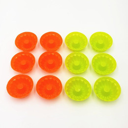 Wholesale Pumpkin Baking - Wholesale- 6.5*3cm 25 PCS Lot Pumpkin Shape 3D Cake Cup Silicone Muffin Cupcake Mold Baking Tools Cake Decorating Tools For Bakeware