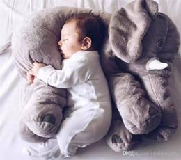 Jouets pour bébé en peluche en Ligne-# 239 1 PCS Éléphant En Peluche Jouets Placate Poupée En Peluche En Peluche Oreiller Décor À La Maison pour Enfant cadeau En Peluche Bébé Jouets