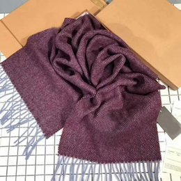 Wholesale Top Tartan Scarf - Winter Top Unisex Cashmere Scarf For Women and Men 2018 Brand Luxury Classic Check Scarfs Pashmina Women Designer Shawls and Scarves 517