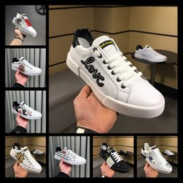 Wholesale Flame Fabrics - Top Quality With Original Box Luxury Brands Designer Leather Sneaker With Flames Man Women Tiger Casual Shoes ACE Embroidered White New
