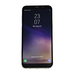 Wholesale Hot Android Phones - HOT NEW Goophone S8 5.5 Inch MTK6580 RAM 1GB ROM 8GB Show octa core 64GB 4G LTE Android phone with Metal Frame GPS WIFI free ship