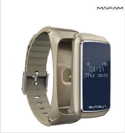 tariffe cellulari Sconti Bluetooth B7 Smart Bracciale Bluetooth Combinazione telefono auricolare che ascolta il cardiofrequenzimetro per cardiofrequenzimetro