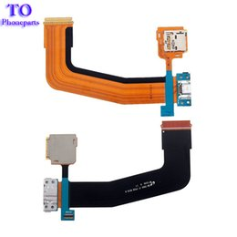 Wholesale Galaxy S Cable - For Samsung Galaxy Tab S 10.5 T800 USB Port Dock Connector Charging Port with SD Card Reader Flex Cable