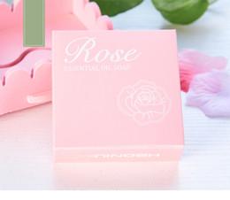 Wholesale Блеск бамбук уголь мыло Роза сочетание уход за кожей мыло ручной работы увлажняющий эфирное масло мыло Мыло
