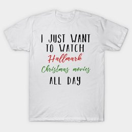 2019 weihnachten tag film Ich will den ganzen Tag nur die typischen Weihnachtsfilme sehen - Christmas Gifts T-Shirt günstig weihnachten tag film
