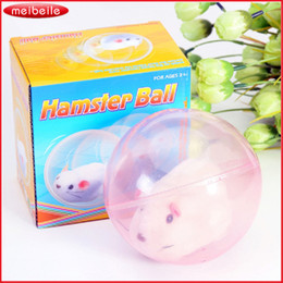Wholesale Hamsters Free Shipping - Hot selling novelty electric hamster ball transparent electric pet running hamster toy kids children animal toys Free shipping