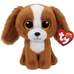 """Шапочка коричневая онлайн-Pyoopeo Ty Beanie Babies 6 """"15см Tala the Brown Dog Плюшевые игрушки из мягких мягких игрушек с игрушками в виде игрушек с изображением сердца"""