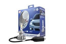 Wholesale Fog Lamp For Mazda - for Mazda 1 Set H11 G3 2018 new LED Headlight Kit System LUXEON ZES LED Chips All in One Fanless Aluminum Belt Driving Fog Single Lamp