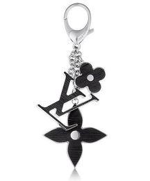 Wholesale Lock Key Heart - FLEUR D'EPI BAG CHARM M65084 KEY HOLDERS MORE TAPAGE CHARM KEY HOLDERS BAG CHARMS ENVELOPPE BAG CHARM HOLDER M78608