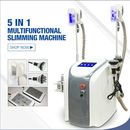 Wholesale cryo laser - 2018 Portable Slimming Machine Cool Sculpting Cryotherapy Cryo Lipolysis Ultrasound RF Liposuction Lipo Laser Machine Fat Freezing Machine