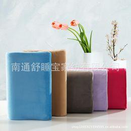 Wholesale Wholesale Bamboo Pillows - Travel Pillow Neck Oreiller Slow Rebound Health Care Memory Pillow 2018 Original Bamboo Fiber Support The Neck Fatigue Relief