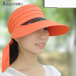 4977694f82b Kagenmo Summer sun-shading hat women s anti-uv large folding sunscreen sun  hat summer