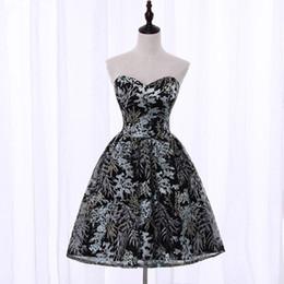 56d14a3bb6 Distribuidores de descuento Vestido Corto Sin Tirantes Elegante ...
