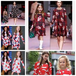 d2e222be5d64e 18 couleurs famille correspondant à des tenues de Noël mère et fille  vêtements à manches longues bonhommes de neige flocon de neige maman et moi  Noël Elk ...