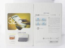 Wholesale orange class - Class 10 EVO 128GB 64GB Micr Card MicroSD TF Memory Card C10 Flash Adapter SD White Orange Retail Package