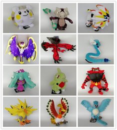 Wholesale Style Ho - More Style Lunala Solgaleo Incineroar Togedemaru Zapdos Marowak Dragonair Ho-Oh Articuno Yveltal Plush Toy For Best Gifts 18-30cm