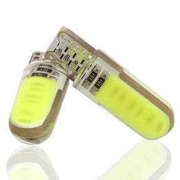 Macchine di lada online-W5W LED per interni auto luce marcatore cob lampada 12V 194 501 SMD lampadina cuneo parcheggio luce canbus auto lada car styling