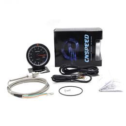 Canada CNSPEED 60MM Jauge de température de gaz d'échappement de voiture de course éclairage Black Face Jauge de température de gaz d'échappement automatique Offre