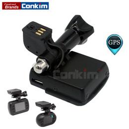Wholesale gps sticker - Conkim 3M Sticker Car Holder With GPS Module For Car DVR Mini 0903  0905  0906