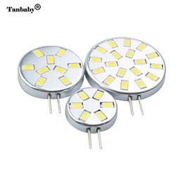 Wholesale Spotlight Housing - Tanbaby G4 led light bulb 2W 3W 6W 5730 SMD lighting lamps DC12V white or warm white ulter brighter led house candle spotlight